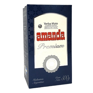 Amanda Premium Yerba Mate with Stems 500 g (1.1 lbs)
