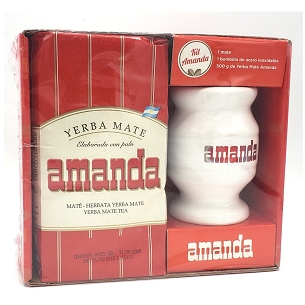 Amanda Yerba Mate Ceramic Kit