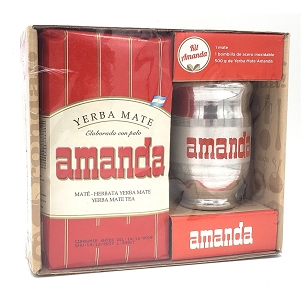 Amanda Yerba Mate Metal Mate Kit