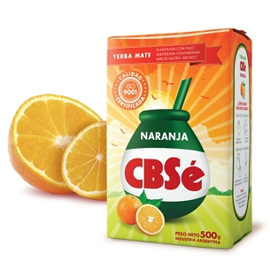CBSe Orange Yerba Mate 500 g (1.1 lbs)