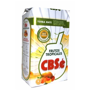 CBSe Yerba Mate Tropical Fruit 500 g (1.1 lbs)