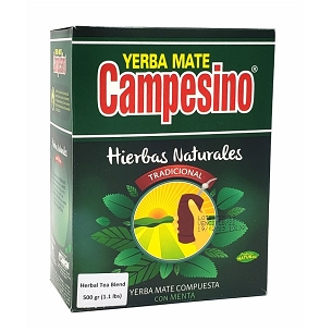 Campesino Traditional Herbal Blend Yerba Mate 500 g (1.1 lbs)