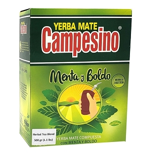 Campesino Mint and Boldo Yerba Mate 500 g (1.1 lbs)