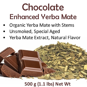 Chocolate Yerba Mate Blend 500 g (1.1 lbs)