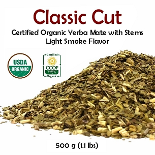 Classic Yerba Mate (with stems) 500 g (1.1 lbs)