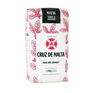 Cruz de Malta Yerba Mate with stems 1.1 lbs (500 g)