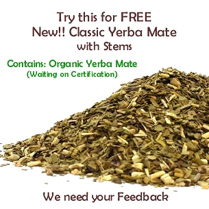 FREE! GYM Classic Yerba Mate Sample