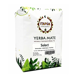 Select Organic Yerba Mate (With Stems) 5 Lbs (2.27 kg)