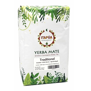 Traditional Organic Yerba Mate (smoked with stems) 5 lbs (2.27 kg)