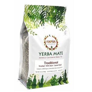 Traditional Organic Yerba Mate (smoked with stems) 16 oz (454 g)