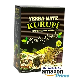 Sample Kurupi Mint Boldo Yerba Mate 90 g