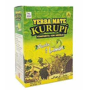 Sample Kurupi Mint Lemon Yerba Mate 90 g