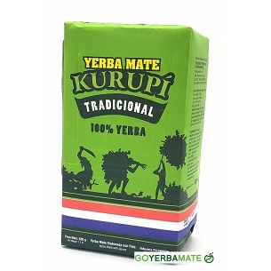 Kurupi Traditional Yerba Mate 500 g (1.1lbs)