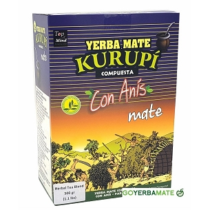 Kurupi Yerba Mate with Anise 500 g (1.1 lbs