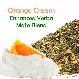 New!! Orange Cream Yerba Mate Blend 500g (1.1 lbs)