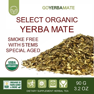 Sample Select Organic Yerba Mate 90 g