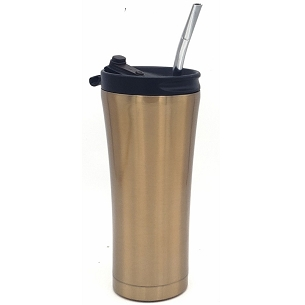 GYM Stainless Steel Mate Tumbler Bronze 17 oz (500 ml)