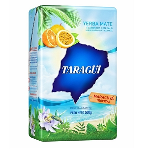 Taragui Tropical Passion Fruit Yerba Mate 500 g (1.1lbs)
