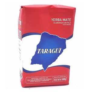 Taragui Traditional Yerba Mate with Stems 1 kg (2.2 lbs)