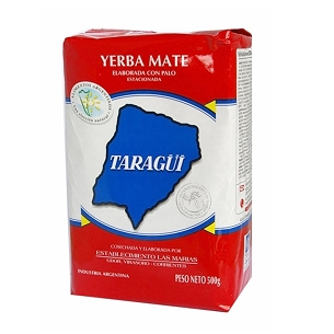 Taragui Traditional Yerba Mate with Stems 500 g (1.1lbs)