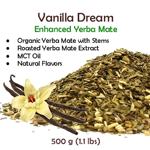 New!! Vanilla Dream Yerba Mate Blend 500g (1.1 lbs)