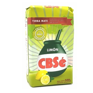 CBSe Lemon Yerba Mate 500 g (1.1 lbs)